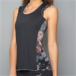Denise Cronwall Tank Top -  Vivid Dark, Black