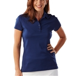Bobby Jones Supreme Cotton Solid Summer Navy Polo