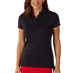Bobby Jones Supreme Cotton Solid Black Polo