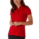 Bobby Jones Supreme Cotton Solid Rio Red Polo