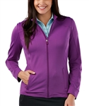 Bobby Jones Twilight Purple Tech Jacket