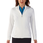 Bobby Jones White Tech Jacket
