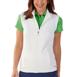 Bobby Jones White Tech Vest