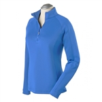 Bobby Jones Madeleine 1/4 Zip Mock - Marina Blue