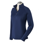 Bobby Jones Madeleine 1/4 Zip Mock - Summer Navy