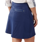 Bobby Jones Tech Solid Golf Skort - Summer Navy