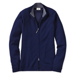 Bobby Jones Lined Summer Navy Wind Sweater