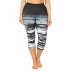 SHAPE PLUS Woodlands Ombre Fitness Capri