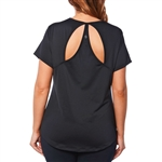 SHAPE PLUS Rock Steady Tee - Black