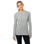SHAPE Odyssey Pullover - Light Grey Melange