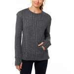 SHAPE Odyssey Cable Knit Pullover