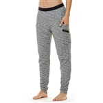 SHAPE Slouch Jogger Pant - Light Grey Melange