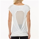 SHAPE Twist Mesh Back Athletic Tank