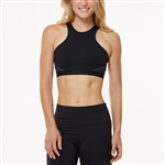 SHAPE Black/Ombre Blue Cyberia Sports Bra