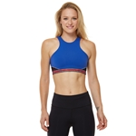 SHAPE Bowie Sports Bra - Surf Blue