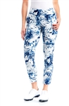 Swing Control Basic Palm Blue Eagle Ankle Pant