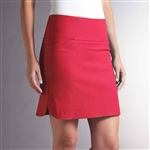 Swing Control Masters Golf Skort - New Red