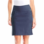 Swing Control Masters Golf Skort - Navy