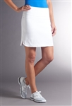 Swing Control Masters Golf Skort - White