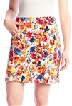 Swing Control Masters Golf Skort - Red Floral
