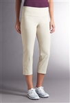 Swing Control Snap Masters Crop Pant - Stone