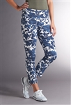 Swing Control Masters Blue Floral Ankle Pant
