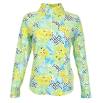 IBKUL Hera UPF 50 Sun Shirt - Yellow