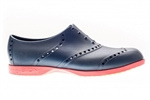 BIION Brights Golf Shoe - Navy/Red