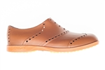 BIION Brights Golf Shoe - Brown & Bright Orange
