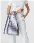 BAGGU Reusable Shopping Bag - Sail Stripe