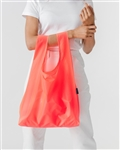 BAGGU Reusable Shopping Bag - Electric Neon Poppy