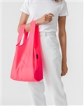 BAGGU Reusable Shopping Bag - Hot Pink