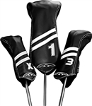 Sun Mountain Leather Stripes Headcovers