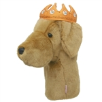 Daphne's Yellow Lab w/ Crown Golf Headcover