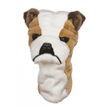 Daphne's Bulldog Golf Headcover