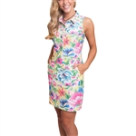 Tee2Sea Sleeveless Golf Dress - Bridal Bouquet