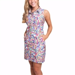 Tee2Sea Sleeveless Golf Dress - Kodachrome