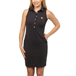 Tee2Sea Sleeveless Golf Dress - Little Black Dress