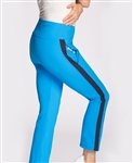 KINONA Smooth Your Waist Golf Crop Pant - Deep Turquoise