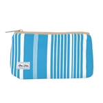 Ame & Lulu Brush If Off Cosmetic Case - Ticking Stripe