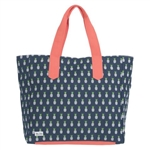 Ame & Lulu Land to Sand Beach Tote - Pineapple