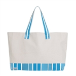 Ame & Lulu Resorter Tote - Ticking Stripe