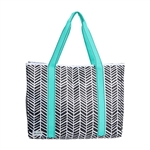 Ame & Lulu Shopper Tote - Black Shutters