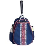 Ame & Lulu Love All Tennis Backpack -  Pink Shutters