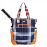 Ame & Lulu Emerson Tennis Tote - Abbey Plaid