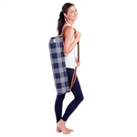 Ame & Lulu Yoga Bag- Abbey Plaid