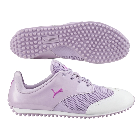 Puma SummerCat Golf Shoe - White/Cactus Flower