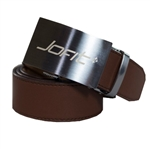 JoFit Contoured Brown Leather Belt