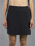 JoFit Lace Up Golf Skort - Black