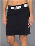 JoFit Belted Golf Skort - Black